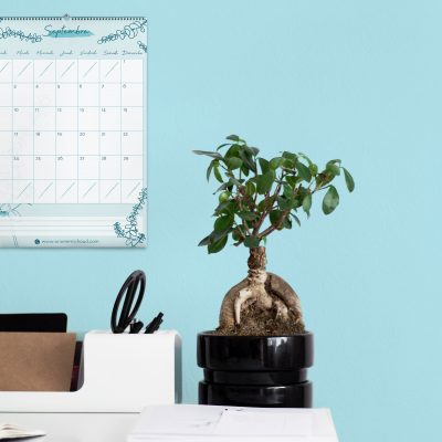 calendrier de bureau à imprimer