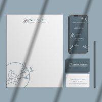 identité visuelle complète avec logo par graphiste freelance à Valence dans Drôme